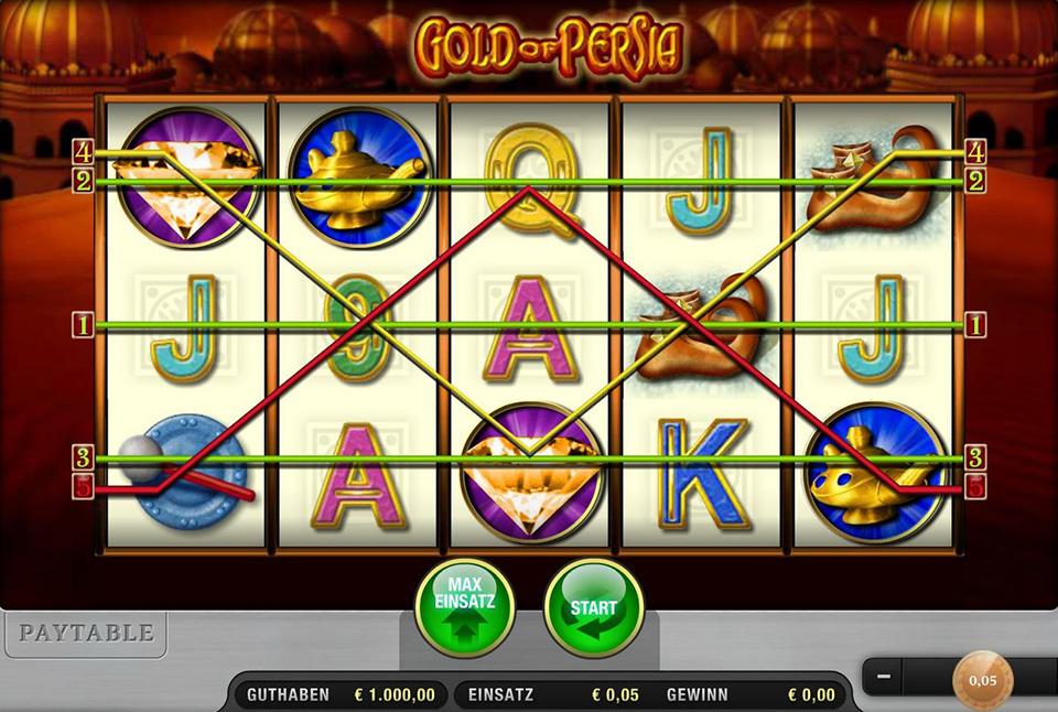 Gold of Persia kostenlos spielen | Online-Slot.de