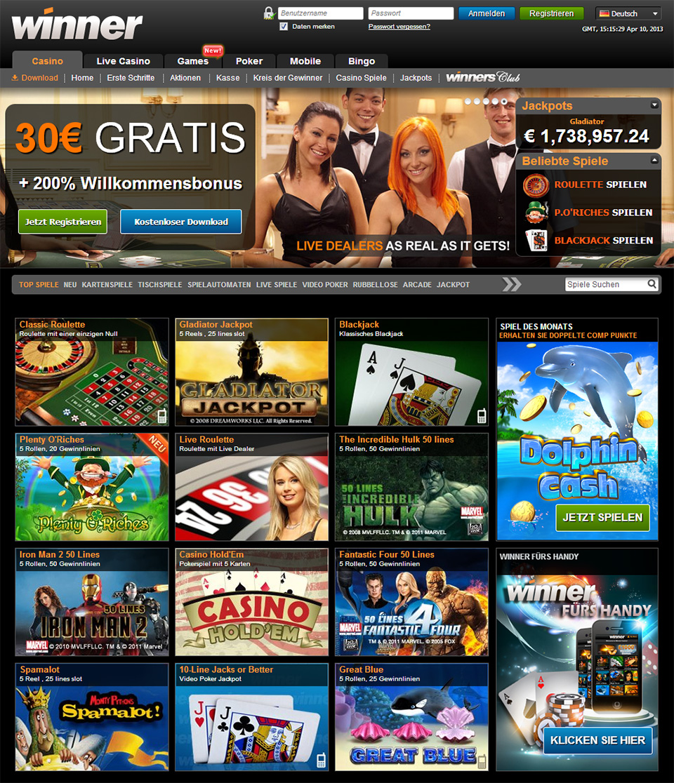 bester casino bonus