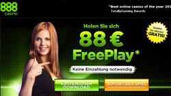 888 Casino 88 Euro kostenlos