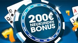 Williamhill Casino 100% bis 200€